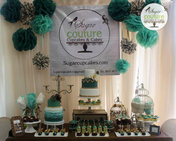 Stand de expo novia 2013 de Sougar Couture decorado con productos de Alquibodas. https://www.facebook.com/Alquibodas