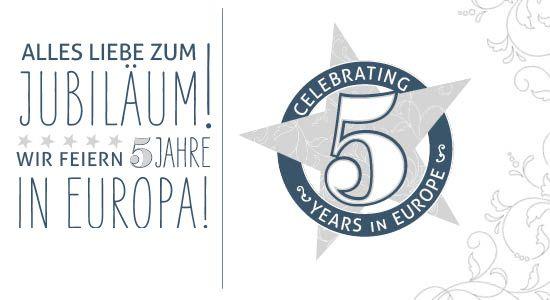 Wir feiern unseren fünften Jahrestag!