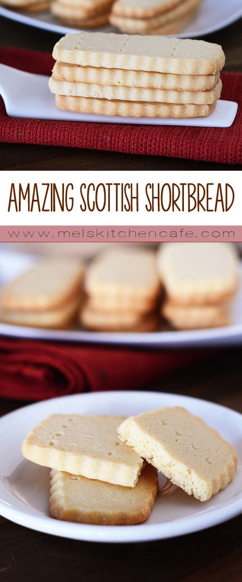 Shortbread is such a quintessential holiday cookie, and these ones are amazing.