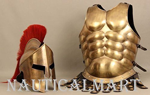 Solid Wooden Armor Display Stand for Medieval Breast Plate Cuirass and Helmet