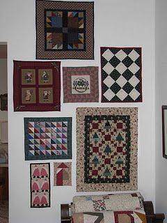 My Christmas little quilt gallery.