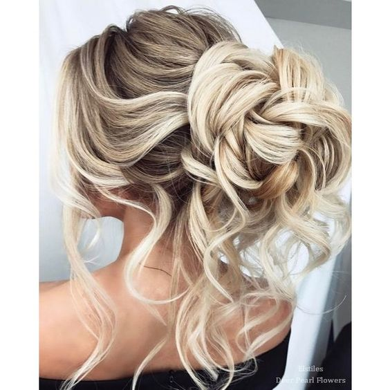 Elstile Wedding Hairstyles for Long Hair ❤ liked on Polyvore featuring beauty products, haircare, hair styling tools, hair and hair styles