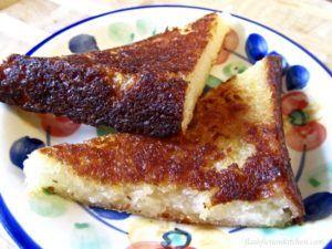 Fijian Cassava Cake