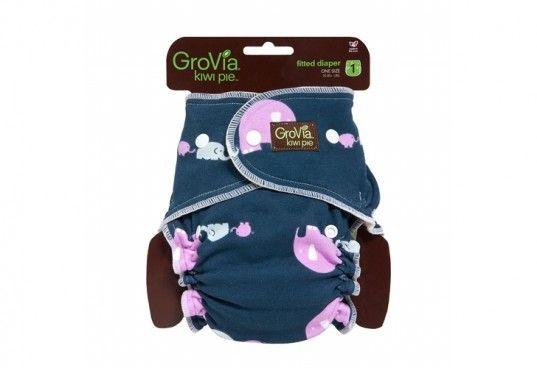grovia, kiwi pie, kiwi pie fitted diaper, cloth diaper
