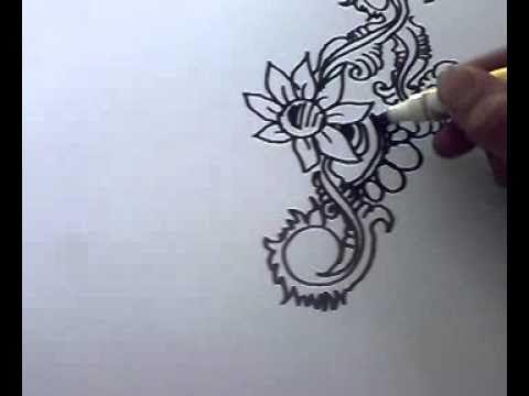16 Lukisan Corak Bunga Kerawang Cara Melukis Deeway Channel 2 Download Lukisan Corak Batik Bunga Simple Cikimm Com Download U Lukisan Cara Melukis Inai