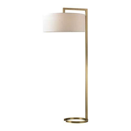Elk Home D2739 Ring Two Light Floor Lamp In Antique Brass Contemporary Modern Bellacor In 2020 Brass Floor Lamp Floor Lamp Floor Lamp Lighting