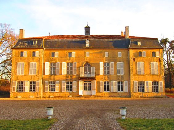 Chateau de Lue, Hayes, Moselle, France.  Members of the Collin family worked at Lue in the 17th century.  As French Protestant Huguenots, the Collin family left France and settled in Ludweiler, Saarland, Germany around 1700.  Paternal family.