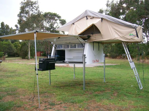 Tent Awning Slide On Campers And Roof Top Tent On Pinterest