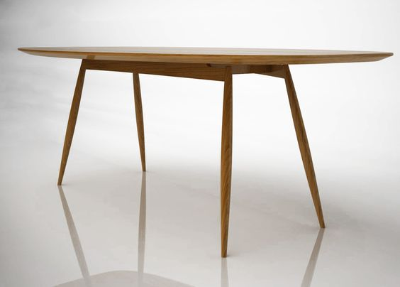 Table ovale manger en bois moualla table ovale karre design furniture pinterest - Table basse ovale bois ...