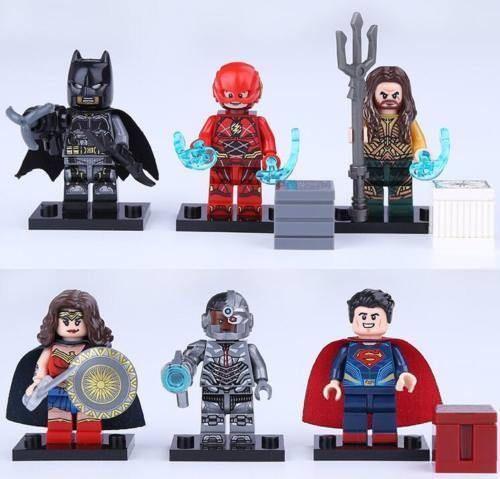 Hourman Custom Minifigure DC Comics Minifigures LEGO Compatible Justice Society