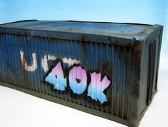Rust and the City: Tutorial: Airbrushing graffiti in 40k