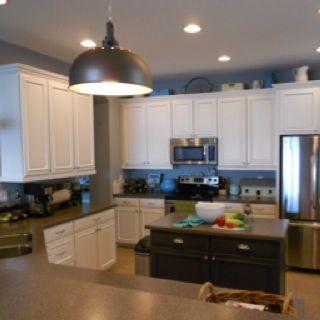 Best White Kitchen Sherwin Williams Snowbound Cabinets For 400 x 300