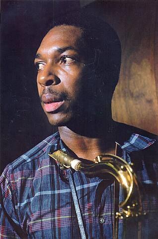 John Coltrane via Lee Friedlander