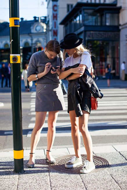 Stockholm Street-Style Photos From Mercedes-Benz Stockholm Fashion Week