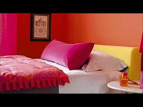 Pink Combination Bedroom Paint Two Colors Trendecorez