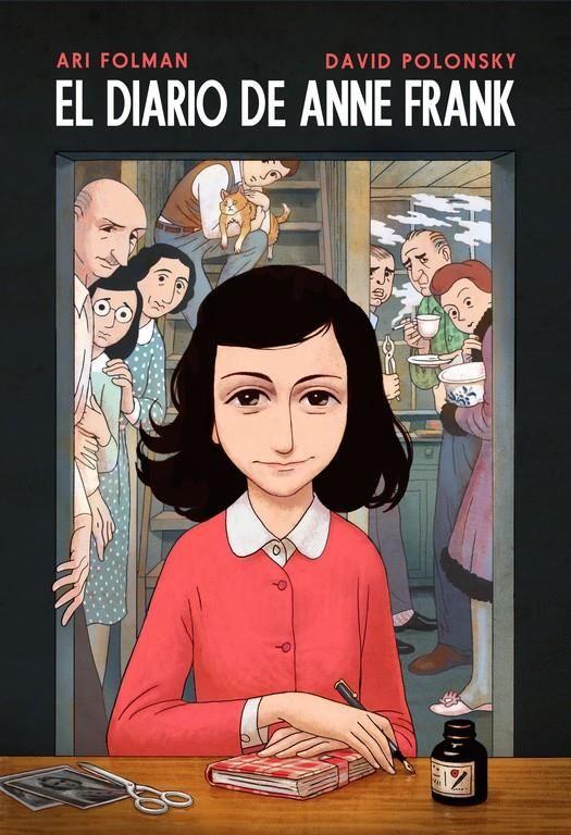 El Diario De Anne Frank Versión Cómic El Diario De Anne Frank El Diario De Ana Frank Anne Frank