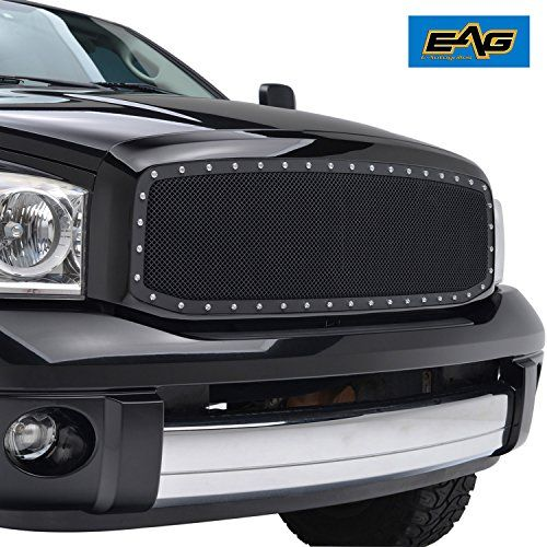 Eag Wire Mesh Front Grille Insert For 06 09 Dodge Ram 150 Dodge Ram 1500 Dodge Ram Dodge Truck Accessories