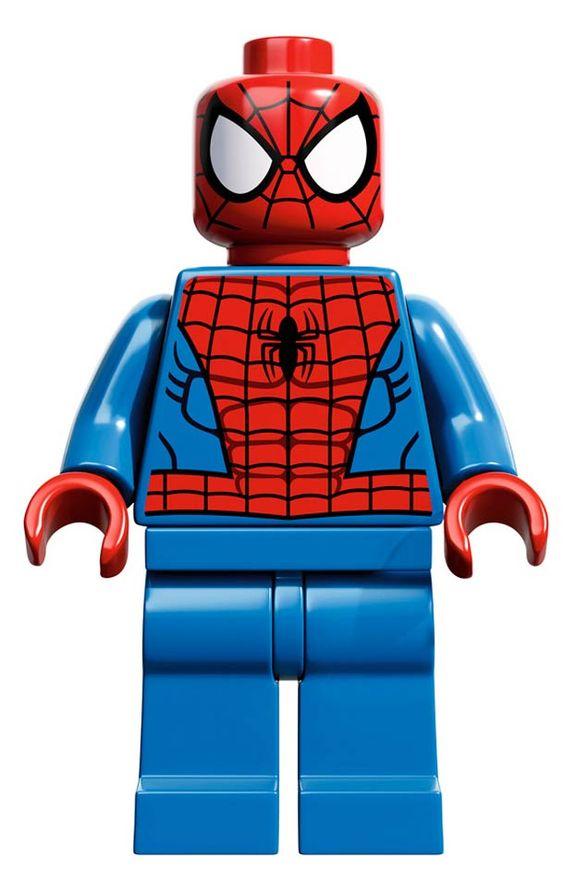 VENOM VS. SPIDERMAN – MARVEL X LEGO MINIFIGURES