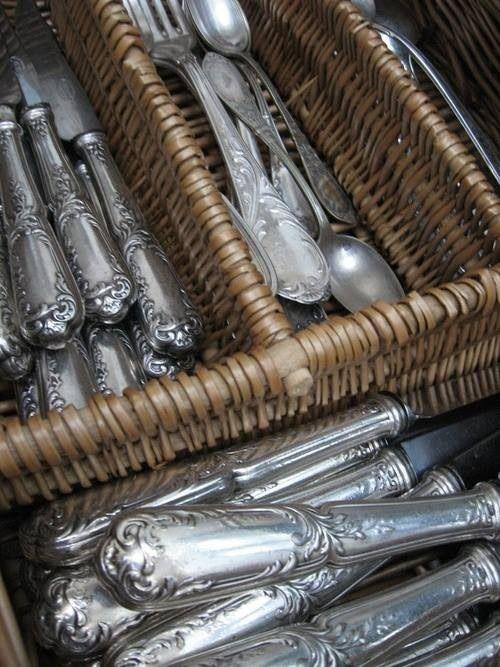 Beautiful silver display