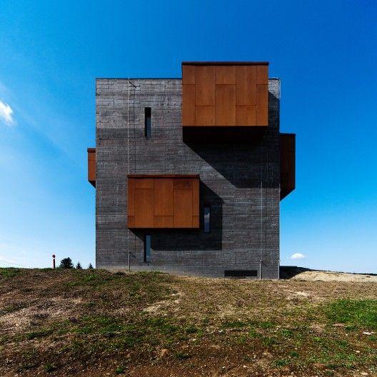 Centro de Visitantes Kemenes Volcanopark / Foldes Architects