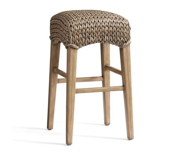 Seagrass Backless Bar Amp Counter Stools With Images Backless Bar Stools Bar Stools Counter Stools