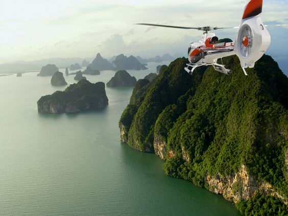 Helicopter tour - Must do in Phuket