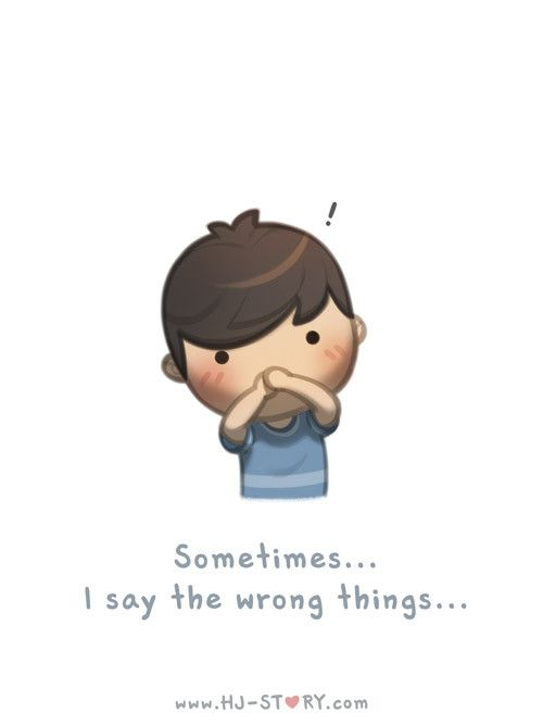 Check out the comic HJ-Story :: Sometimes I say the wrong things...