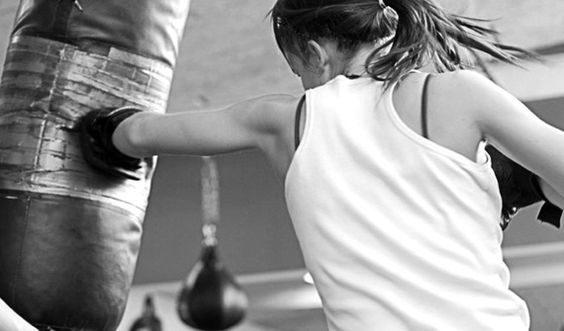 Chloe's POV) I hit the punching bag before bouncing back on my toes. Damien still hadn't given me an answer on moving or not. I turn around when I hear the door open.