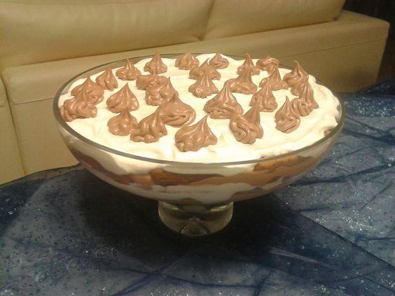 Noz Moscada e Gengibre: Pavé de mouse de chocolate e bolacha