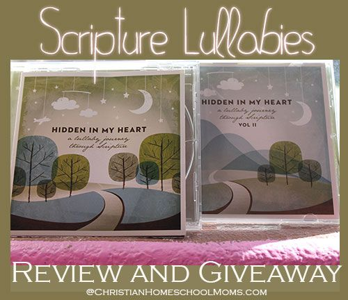 Hidden In My Heart Scripture Lullabies Review and Giveaway