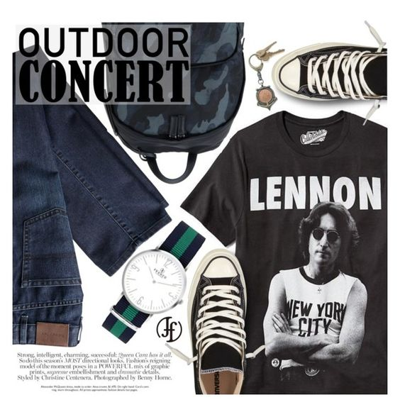 """""""Outdoor Concert"""" by pokadoll ❤ liked on Polyvore featuring Old Navy, Prada, American Coin Treasures and francoflorenzi"""