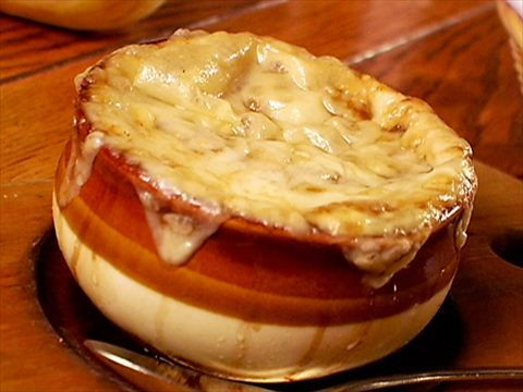 Guy Fieri: French Onion Soup : Guy explains why this soup causes the laws of physics to cease to exist.