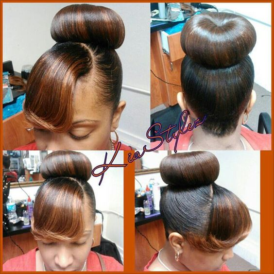 Miraculous Bangs Buns And Style Bangs On Pinterest Hairstyle Inspiration Daily Dogsangcom
