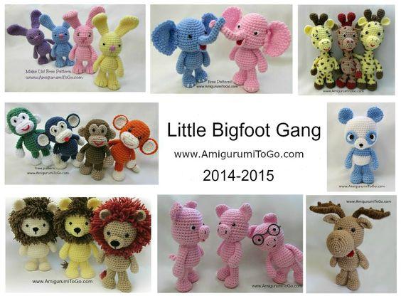 Amigurumi Little Bigfoot Panda : Pinterest The world s catalog of ideas