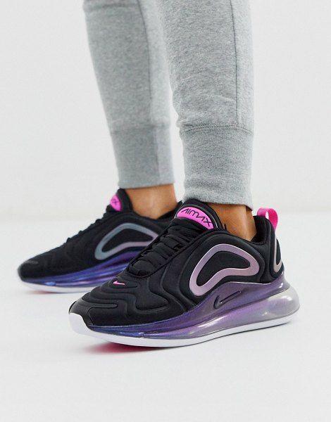 Nike Black And Pink Air Max 720 Sneakers   Black nikes, Nike ...