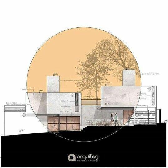 Erhebung Kunst Grafik Architektur Design Architektur
