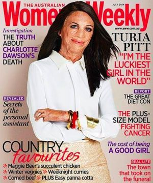 This Women's Mag Cover Is Truly Inspiring http://www.refinery29.com/2014/06/70282/turia-pitt-womens-weekly-cover