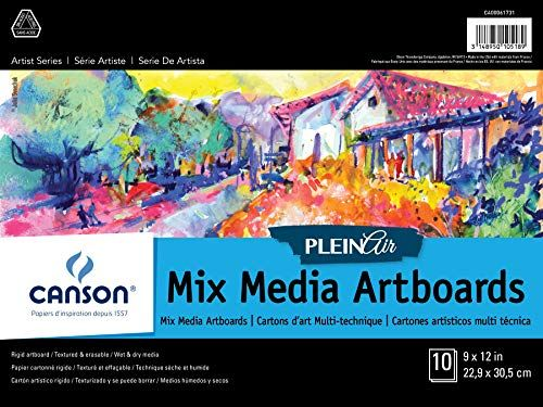 Canson Xl Series Mix Media Pad Canson Plein Air Mix Media Art Board Pad For Watercolor Https