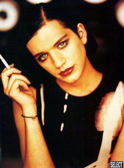 """I feel very comfortable with the way I look, and I feel very comfortable with the kind of confusion that it creates in people's minds"", - Brian Molko"