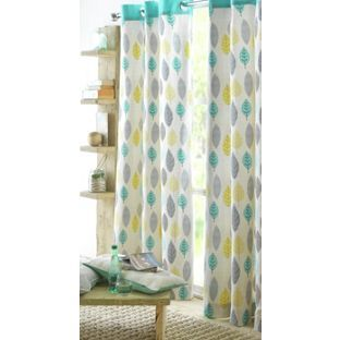 Buy Heart of House Arla Lined Eyelet Curtains - 229x229cm at Argos ...