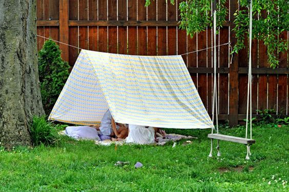 Who doesn't love a good, old-fashioned fort? You know the one's were talking about. Built with every cushion, pillow, tablecloth and sheet from mom's closet that you could find! Children and grown-ups alike will enjoy the whimsy and joy of …