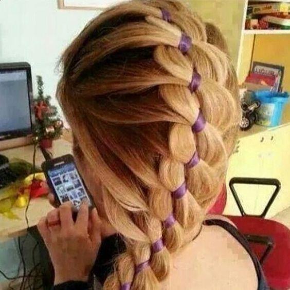 perfect prom hair. braids