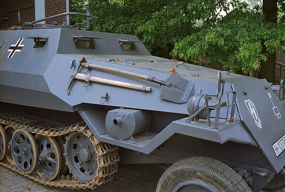Sd Kfz 250 Half Track 12th SS Panzer Division Hitler Jugend