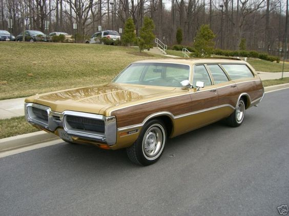 1972 Plymouth Fury Sport Suburban station wagon - I ...