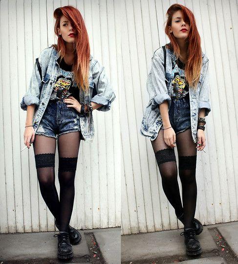 grunge trailer trash and grunge fashion on pinterest
