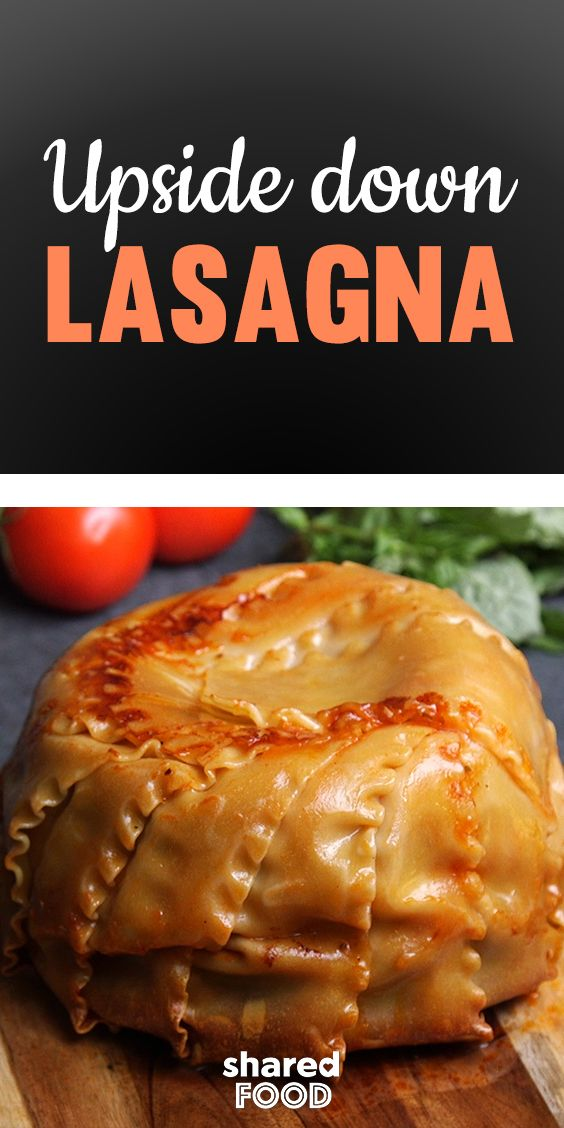 lasagna that can be sliced like a pie yes please by wrapping your lasagna in noodles you ensure all that gooey cheese stays whe food recipes munchies recipes pinterest