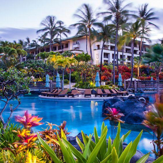 Best Hawaii Honeymoon Resorts - Grand Hyatt Kauai Resort & Spa