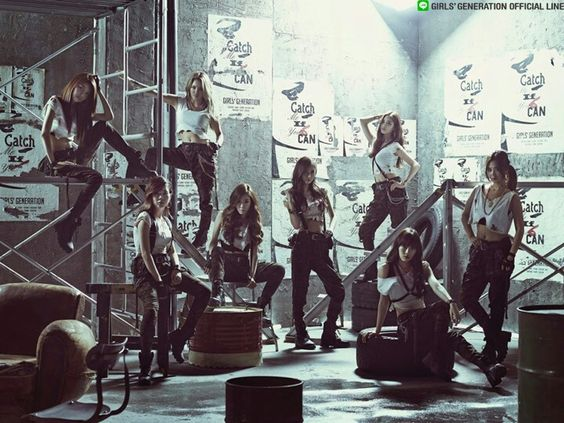 Snsd catch me if you can