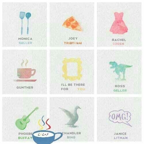 Friends emojis