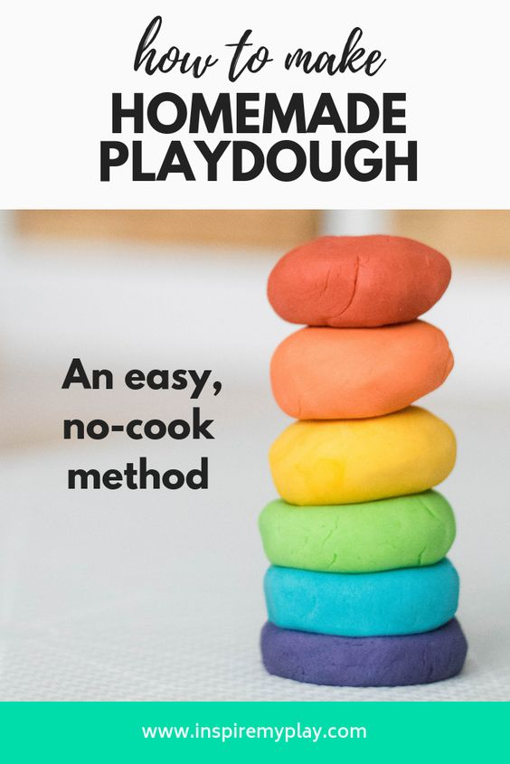 Our Favourite No-cook Play Dough Recipe - Inspire my Play